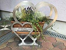Thaller Handel & Montage Herz aus Edelstahl, Herz