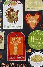 Thanksgiving Herbst Symbole und Sentiments