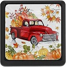 Thanksgiving Schubladenknauf / Ziehgriff, bunt,