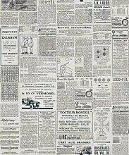 Thatch Amerikanisches Englisch Zeitung Tapete und Retro Café Restaurant Kleidung Shop Studie Hintergrund Tapeten , 3