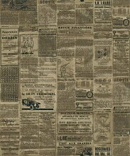 Thatch Amerikanisches Englisch Zeitung Tapete und Retro Café Restaurant Kleidung Shop Studie Hintergrund Tapeten , 4