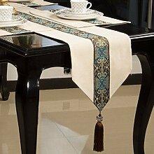 Thatch Continental Esstische Tischset Kit Tabelle flag Couchtisch Tuch TV-schrank Tischdecken Abdeckung,Placemat30*40cm,Beige
