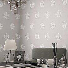 Thatch e europäische Schlafzimmer klassisch geprägte Tapete Tapete 3D nicht gewebte Stoff Kleidung Shop Zähler Schuh Shop Tapeten , 2