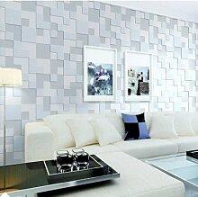 Thatch e moderne Vlies-Tapete Schlafzimmer Mosaikwänden in Volumengeometrie strömten Tapete , 1