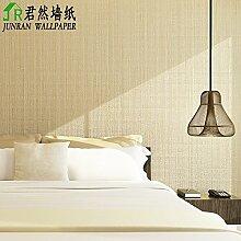 Thatch e Nachahmung Leinen Muster schlicht Vliestapete moderne Schlafzimmer TV Hintergrund eine einfarbige Tapete , 2
