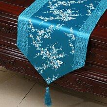 Thatch Einfache Tabellen flag Tücher/Tischdecke bett Schrank Flagge Flagge Tischsets lange Tische continental Stoffen,N,33*230cm