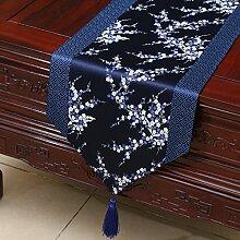 Thatch Einfache Tabellen flag Tücher/Tischdecke bett Schrank Flagge Flagge Tischsets lange Tische continental Stoffen,M,33*200CM