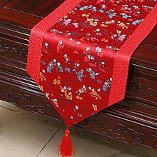 Thatch Einfache Tabellen flag Tücher/Tischdecke bett Schrank Flagge Flagge Tischsets lange Tische continental Stoffen,O,33*300cm