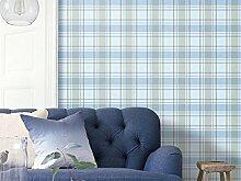 Thatch England pastorale Plaid hochwertigem Vlies Kinderzimmer Zimmer Schlafzimmer Tapeten amerikanische Umweltschutz Dekoration Tapete , 3