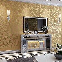 Thatch Europäischen Stil TV Hintergrund Wand e Vlies-anti-Verschmutzung Lärm schallabsorbierenden Tapete , silver , 0.53m*10m