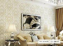 Thatch Kontinentalen super dick Hintergrundbilder 3D geprägtem Vlies Tapeten Schlafzimmer tief geprägte wallpaper , 4