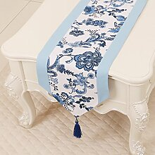 Thatch Minimalistische idyllische Tabelle flag Tücher/Tischdecke bett Schrank Flagge Flagge Tischsets lange Tische canvas Gewebe,B,33*180CM