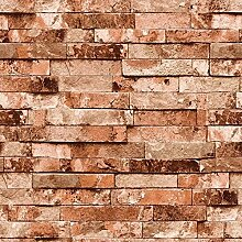 Thatch Moderne chinesische Kleidung Shop Simulation Backstein Muster Tapete Vintage Restaurant bar blinkt grün Ziegel wasserdichte Wand , 3