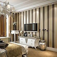 Thatch Moderne und e Streifen Tapete graue vertikale Streifen des schwarzen Vliesstoff Schlafzimmer/setzen eine solide Farblinien Tapete , 2