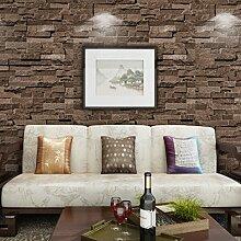 Thatch PVC Fliese Muster Tapete chinesisches Restaurant, TV Wand Hintergrundbild , 1