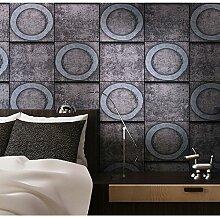 Thatch Retro-Kreis Backstein Muster Backsteinmauern der Marble bar Tapete , 2 , 0.53m*10m