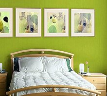 Thatch Schlafzimmer Feuer antimikrobielle PVC Blume Design Tapete , purple , 0.53m*10m