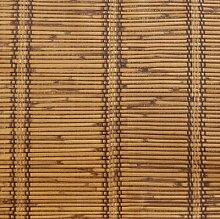 Thatch Simulation von Stroh und Bambus Jalousien Retro-Wohnzimmer-Esszimmer, Hotel-Restaurant-Hotel-Tapete , 2 , 0.53m*10m