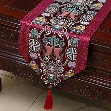 Thatch Tabellen flag Tücher/Tischdecke bett Schrank Flagge Flagge Tischsets lange Tische continental Stoffen,H,33*230cm