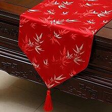 Thatch Tabellen flag Tücher/Tischdecke bett Schrank Flagge Flagge Tischsets lange Tische continental Stoffen,I,33*200CM