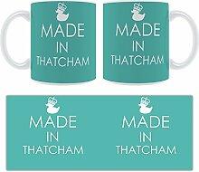 Thatcham-Strukturen Becher groß aus Keramik