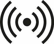 ThatVinylPlace Fracht Dangerous Goods Signs, Vinyl-Stick, Recycling-Zeichen, Container, Auto, Fenster, Tür, (20cm Höhe oder Breite) Schwarz 57