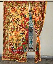 THE ART BOX Fenster Vorhänge Indischen Baum des