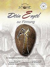 The Art of Stone Engel zur Firmung - Unikat Natur