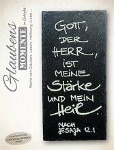 The Art of Stone Schiefer Glaubens Momente - Gott,
