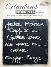 The Art of Stone Schiefer Glaubens Momente - Jeder