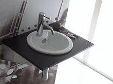 The Bath Collection - kleine rechteckige Waschbecken Girona 42,5 x30, 5x13 cm