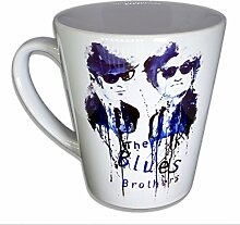 The blues Brothers - Handarbeit Designer Tasse aus