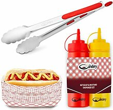 The Candery All-in-One Hot Dog Zubehör-Set –