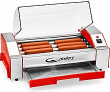 The Candery Hot Dog Roller – Wurstgrill Herd