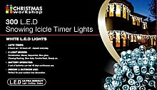 The Christmas Workshop LED-Lichterkette, 300 LEDs,
