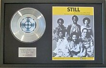 The COMMODORES – Platinum Disc & Lied
