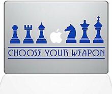 The Decal Guru 1277-MAC-13A-DB MacBook-Aufkleber
