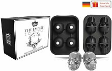THE EMPIRE PRODUCTS Totenkopf Silikonform