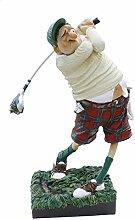 The Golfer Golfspieler von Guillermo Forchino