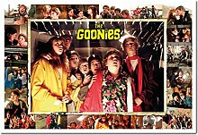 The Goonies Compilation Poster Kork Pinnwand
