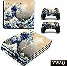 The Great Wave Off Kanagawa Skin für PS4 Pro