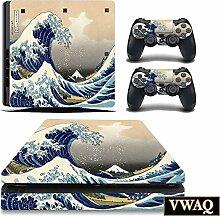 The Great Wave Off Kanagawa Skin für PS4 Slim
