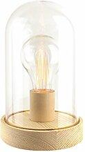 The Home Deco Factory hd1567Deko Lichterkette Glocke Vintage PP braun