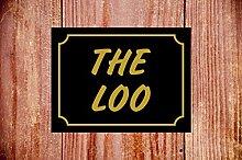 The loo Fun WC-Schild, wetterfest, ideales