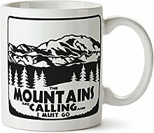 The Mountains Are Calling And I Must Go Coffee Mug