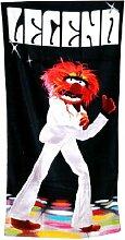 The Muppets 'Animal Legend'Badetuch/Strandtuch, tolle Geschenkidee für Fans der Muppet Show