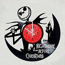 The Nightmare Before Christmas Wanduhr, Vinyl,