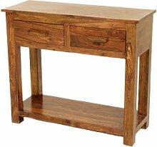 The One Cube Sheesham Konsole-Hall Tisch mit