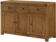The One Oakville (Solide Eiche Medium Sideboard