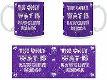 The Only Way Is Rawcliffe Bridge Stylised Keramik